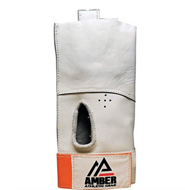 Amber athletic hammer throw glove